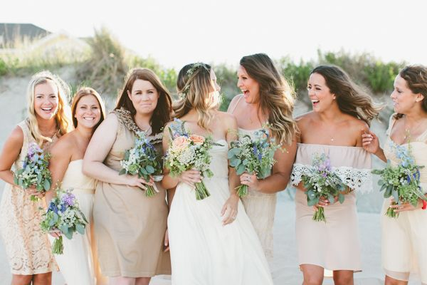 Beige Bridesmaid Dresses: Best 25+ Tan Bridesmaids Ideas On Pinterest