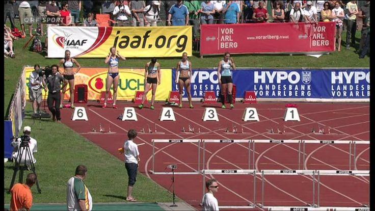 Hypomeeting Götzis 2012 - 100m Hürden Lauf 1/5 mit Ivona Dadic