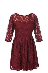 Lace Fit and Flare Dress from Mr Price R149,99