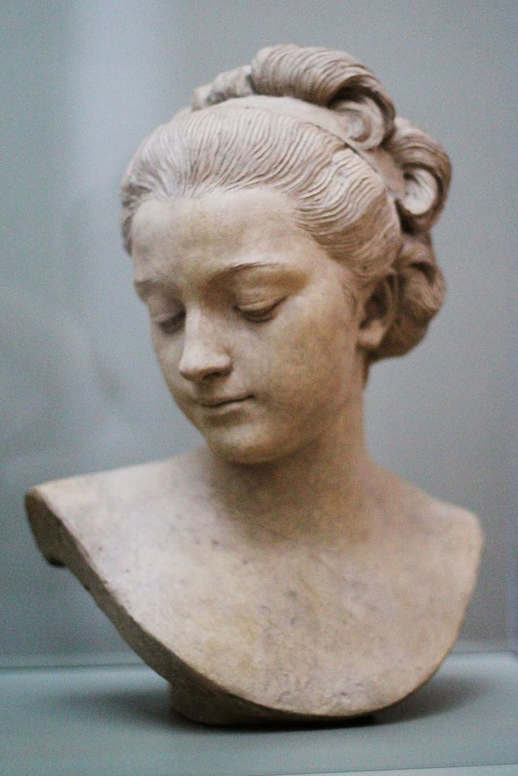 Ideal Female Head, 1769-70  // by Augustin Pajou, J. Paul Getty Museum, Los Angeles, California, US.