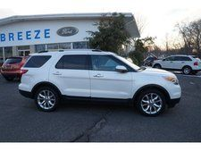 Used 2011 Ford Explorer Limited White SUV http://seabreezeford.com/New-Jersey/For-Sale/Used/ #used #ford #explorer #SUV