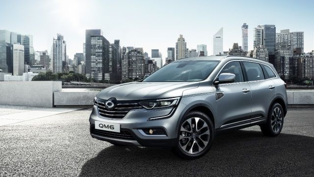 Samsung QM6 : le Renault Koleos pour la Corée