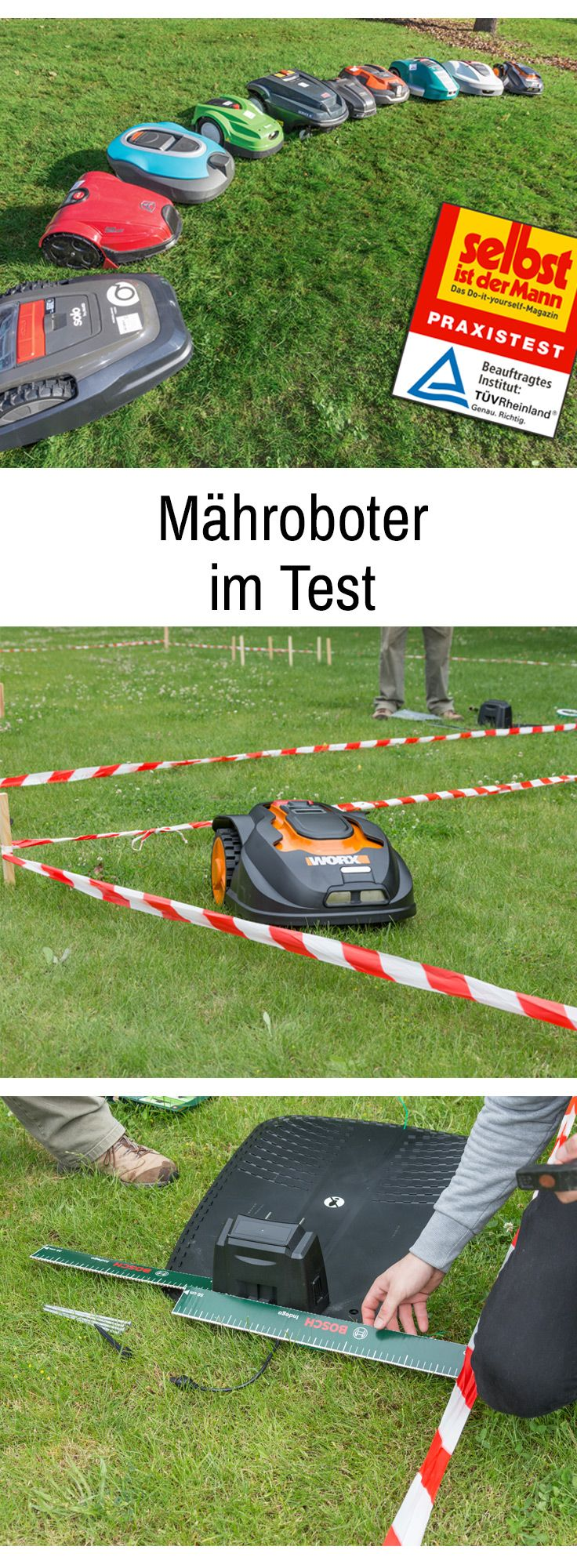 In unserem Werkzeugtest haben wir zehn Roboterrasenmäher gegeneinander antreten lassen. Wie die Mähroboter im Praxistest abgeschnitten haben, lesen Sie hier.