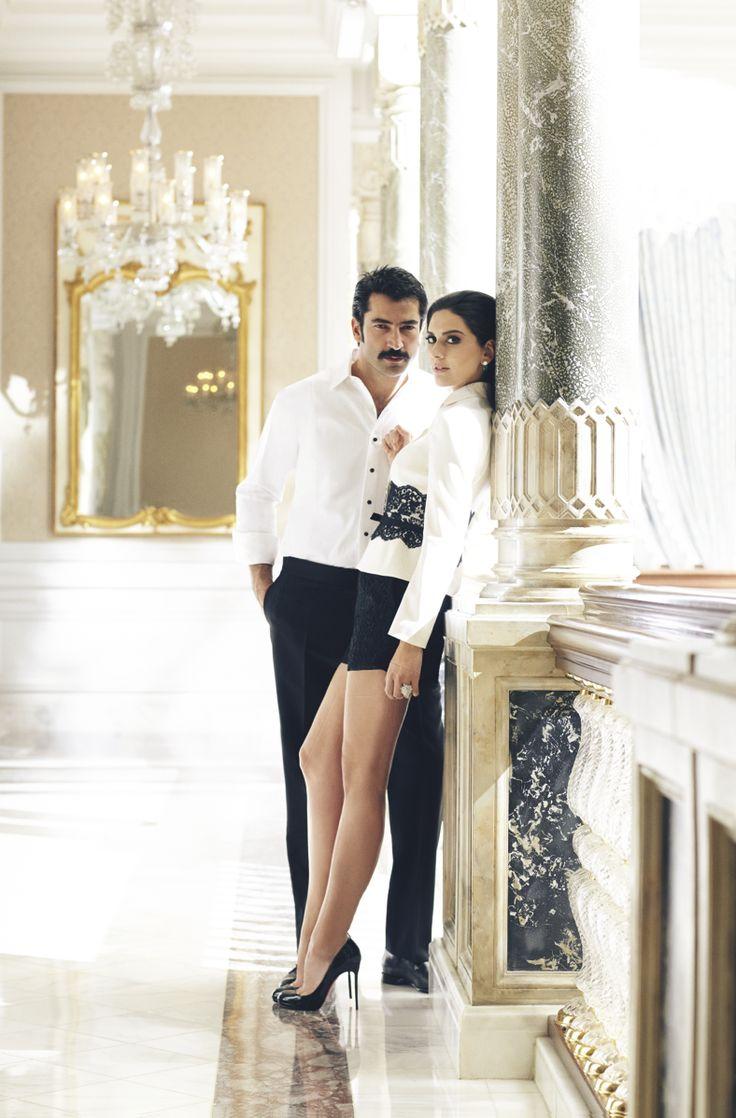 Bergüzar Korel and Kenan İmirzalioğlu