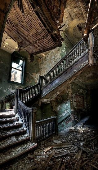 """Beautiful. """"The past is the past, you cant change it. All you can do is look forward to the future."""" ▸ Reblog and ☑ Follow us for more beautiful urbex and decay ▸▸ Have a picture to share? Submit it"""