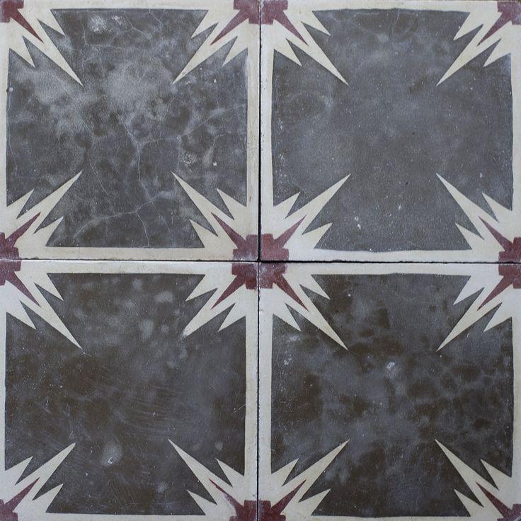 Reclaimed tile by Maitland & Poate - antique tile, retro tile, vintage tile, spanish tile, old tile, encaustic tile, cement tile, moroccan tile, bathroom tile, kitchen tile