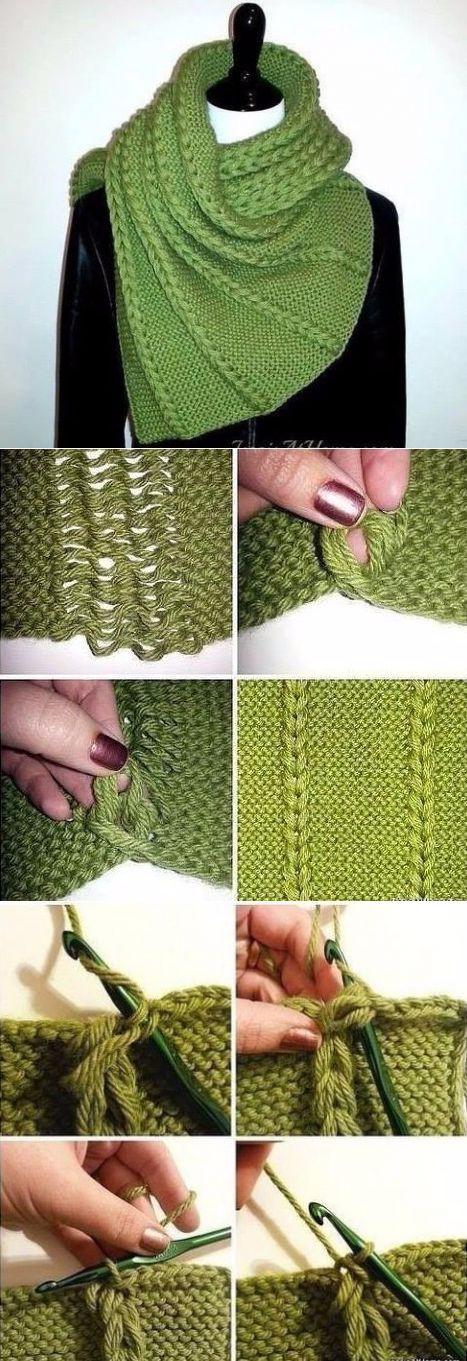 Вязание спицами. Узоры