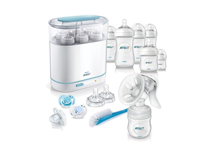 My bargain buy- Philips Avent Complete Natural Starter Set with manual pump annd steriliser - £75