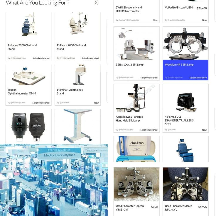 Find #OphthalmicEquipment on www.StoresAndMarket.com Medical Equipment Marketplace  #ophthalmology #ophthalmic #optometric #optometry #eyecare Featured Used Equipment Examination Portable Devices Diagnostic Optical Surgical Have a question ?