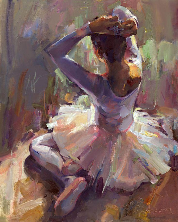 impressionist ballerina | Still Available | Tom Nachreiner - American Impressionist