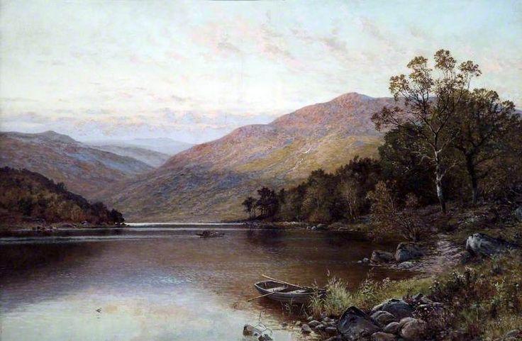 Alfred Augustus Glendening was a London landscape painter