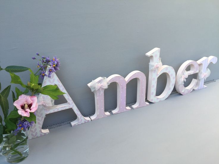 Best Baby Letters Wall Decor Contemporary Home Design Ideas