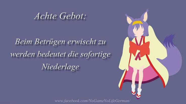 #zehngebote #achtegebot #nogamenolife #anime