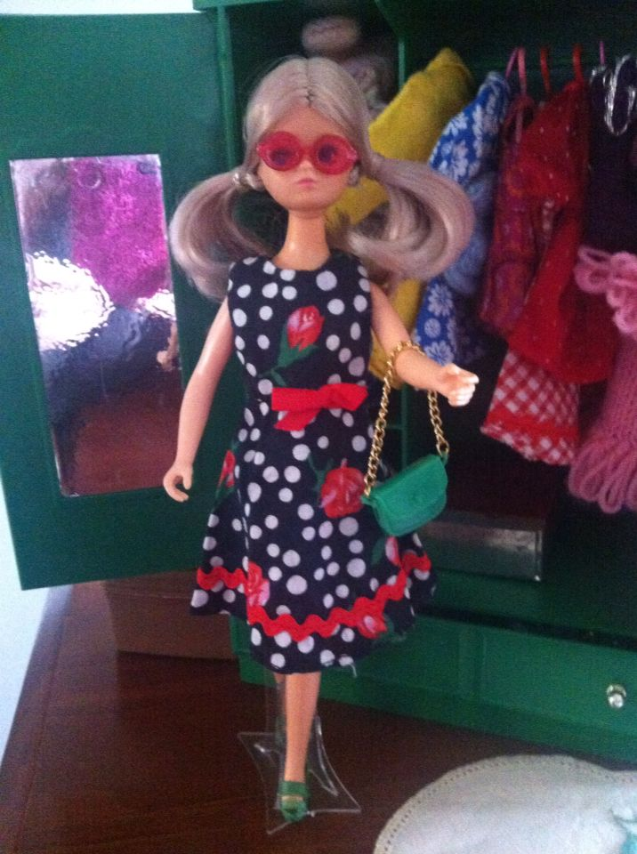 Daisy on her way out to the Shops - Mary Quant Daisy