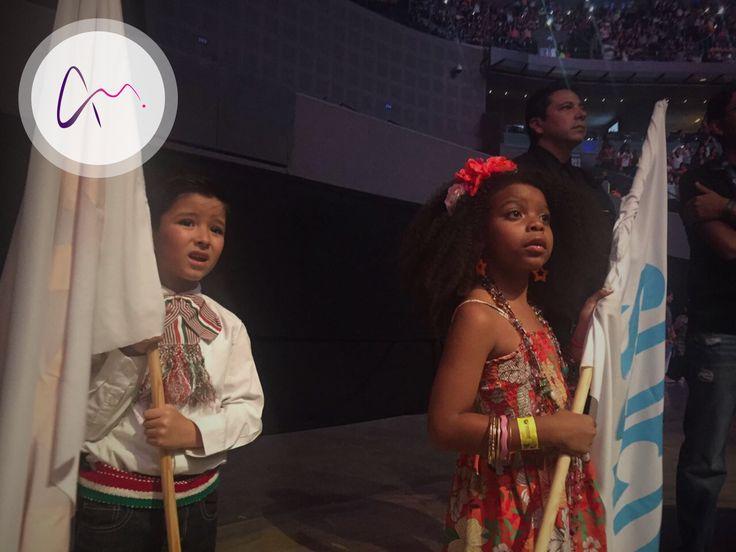 Nuestros Talentos Allegra Models en el concierto de CD9.