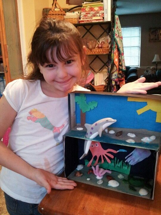 Kids Diorama With Details: Pin By Lauren McNulty On School Projects