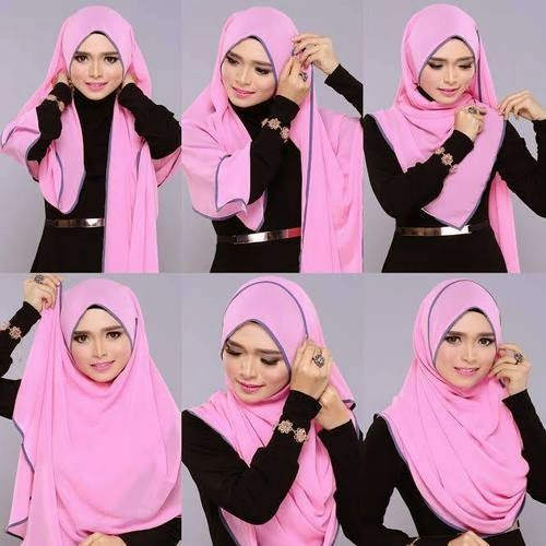 full chest cover hijab tutorial