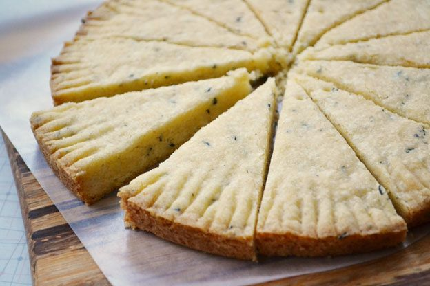 Looking for something deliciously different and reminiscent of spring? Try lavender shortbread - an easy cookie to make, it's a perfect combination of sweet, buttery and floral - all in a melt-in-your-mouth cookie.