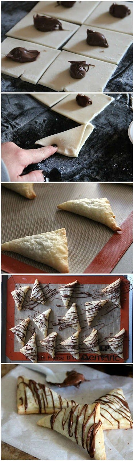 Nutella Pastry Cookies