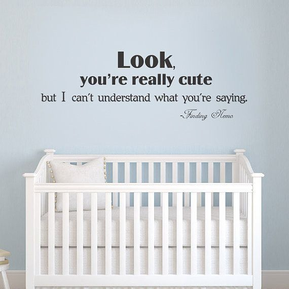 Laugh at them for not being able to talk yet. | 33 Subtle Ideas For Your Disney-Themed Nursery