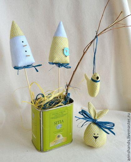 Пасхальный набор-2 - весенний декор, подарок, яйцо, птичка, Пасха - Пасха