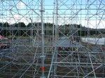 Bau der Bühne - 17. Juli 2012 - Festival Haltestelle Woodstock (FOTOS)