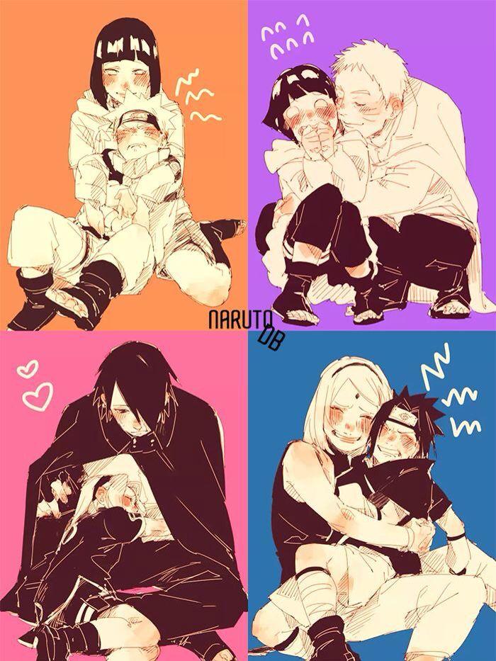 Naruto x Hinata x Sasuke x Sakura