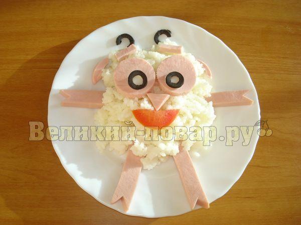 Как украсить кашу для ребенка - пошаговый рецепт с фото от сайта «Великий повар»
