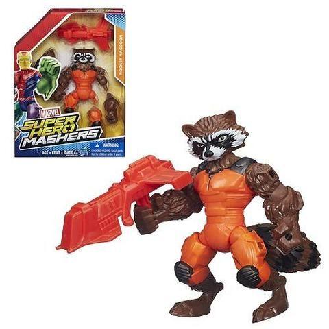 Rocket Raccoon Marvel Super Hero Mashers Action Figure