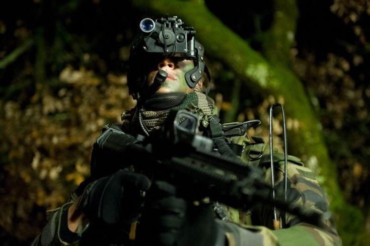 Soldier CPA - Force Spéciale Française