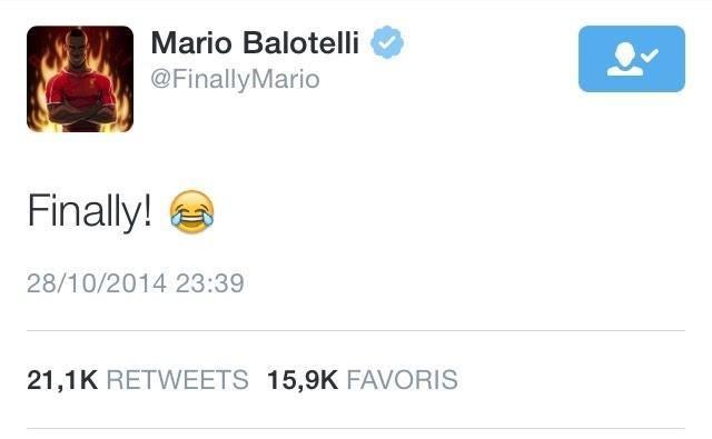 La réaction de Balotelli après son but hier face à Swansea - http://www.actusports.fr/122670/reaction-balotelli-apres-but-hier-face-swansea/