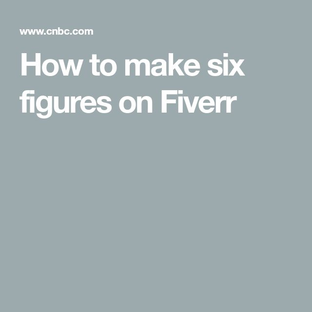 How This 25 Year Old Freelancer Made  Months Off Fiverr 2019 Excited To Try How To Make How To Make Money Money