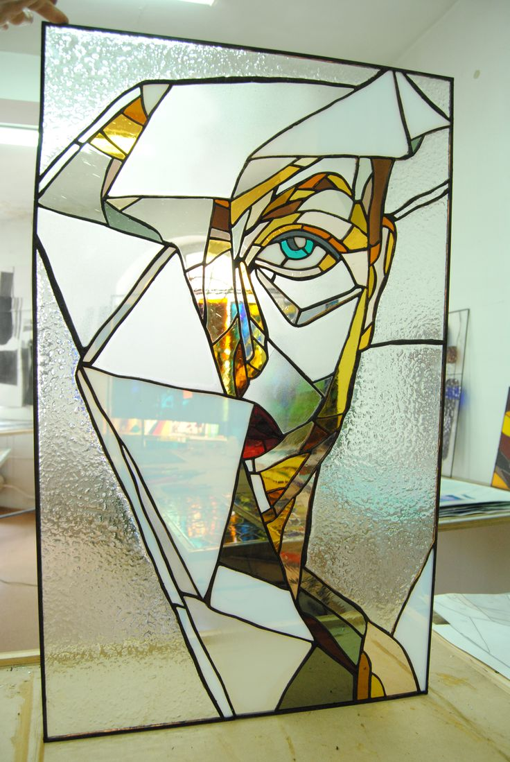 this stained glass is my work!