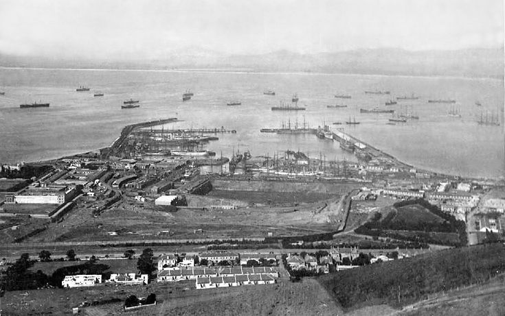Victoria and Alfred Docks c1899. | C1899