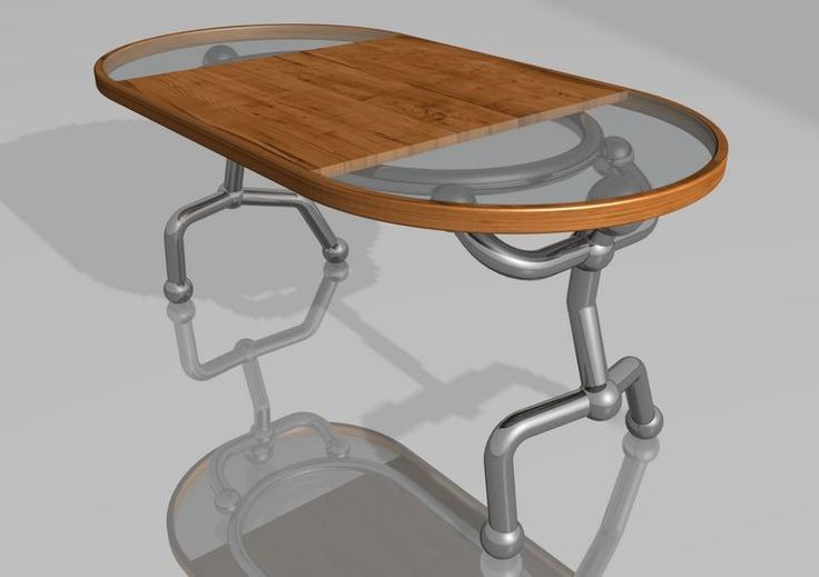 Coffee table... 160x80x65cm