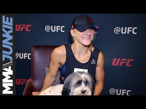 MMA Justine Kish finally has a gameplan, can't wait to face Joanna Jedrzejczyk