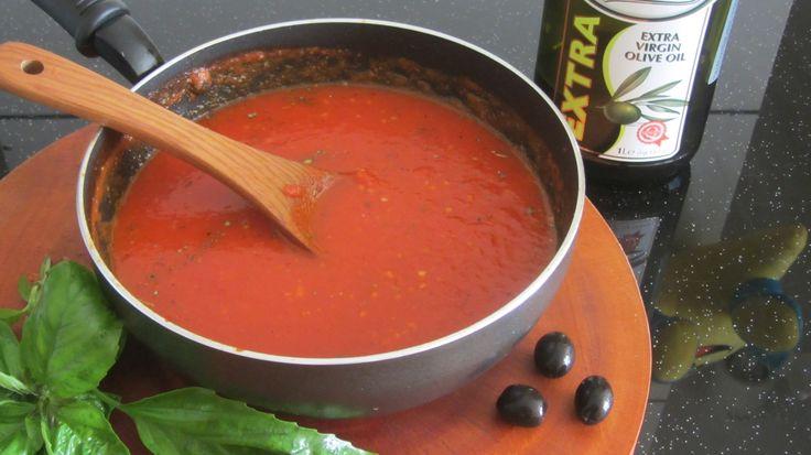 video hướng dẫn cách làm sốt cho Pizza & mỳ Ý рецепт итальянский соус дл...