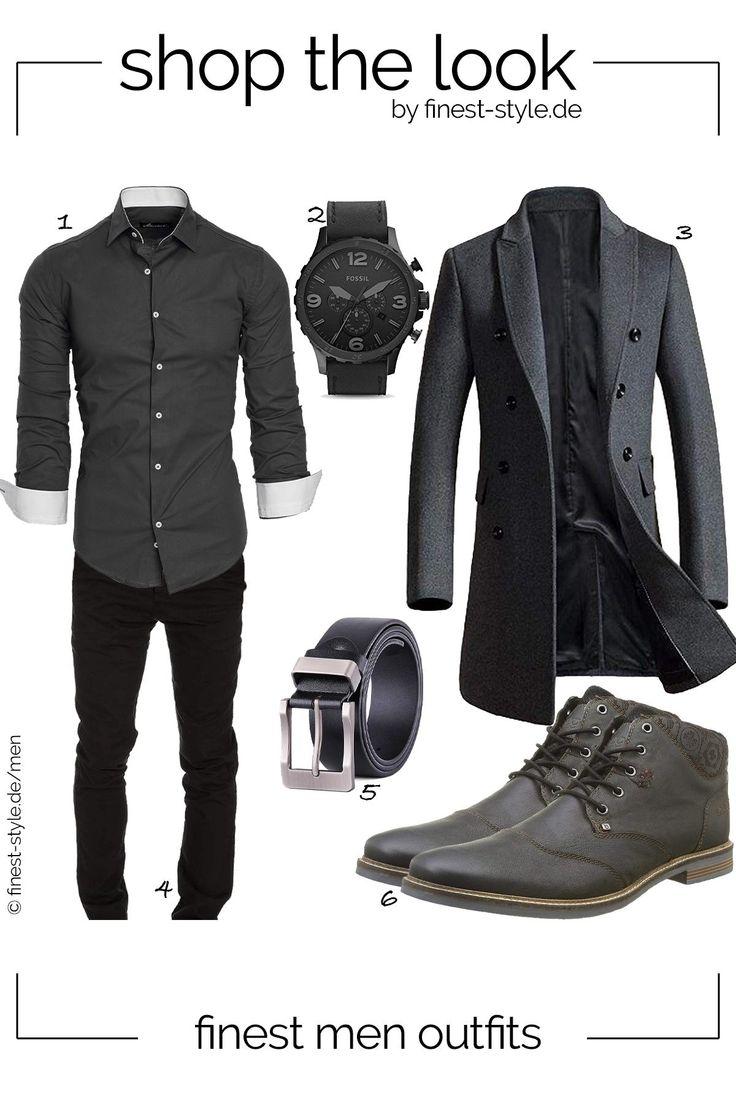Vestito da uomo casual con parti di Fossil, Bugatti, XIANGUO, Vogstyle e Am …