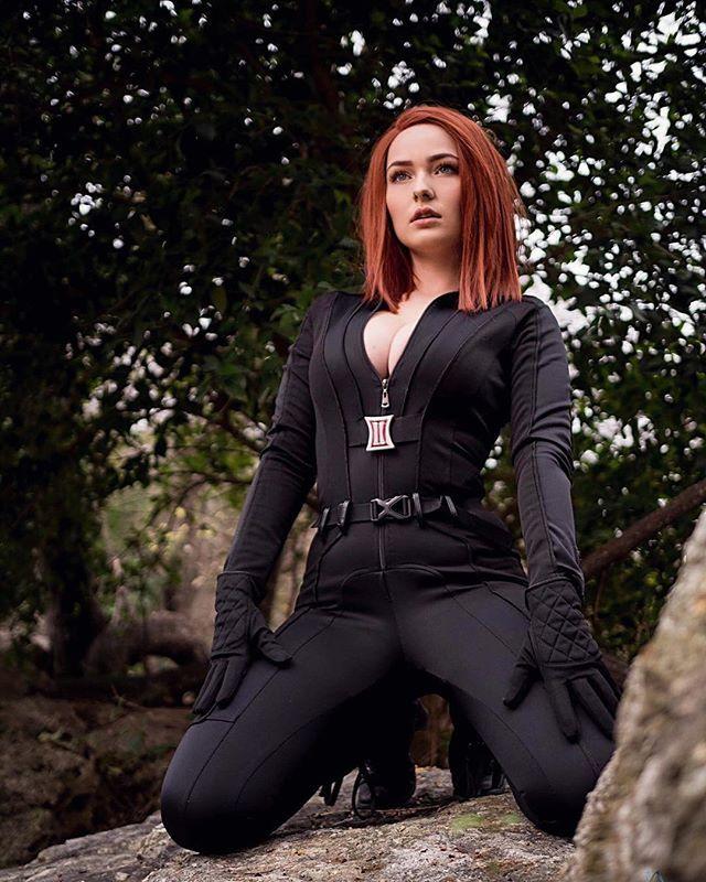 Black Widow by OMGcosplay @ instagram.com/omgcosplay - More at https://pinterest.com/supergirlsart #omg #hot #sexy #cosplay #girl #cosplaygirl #marvel #marvelcomics #avengers #blackwidow