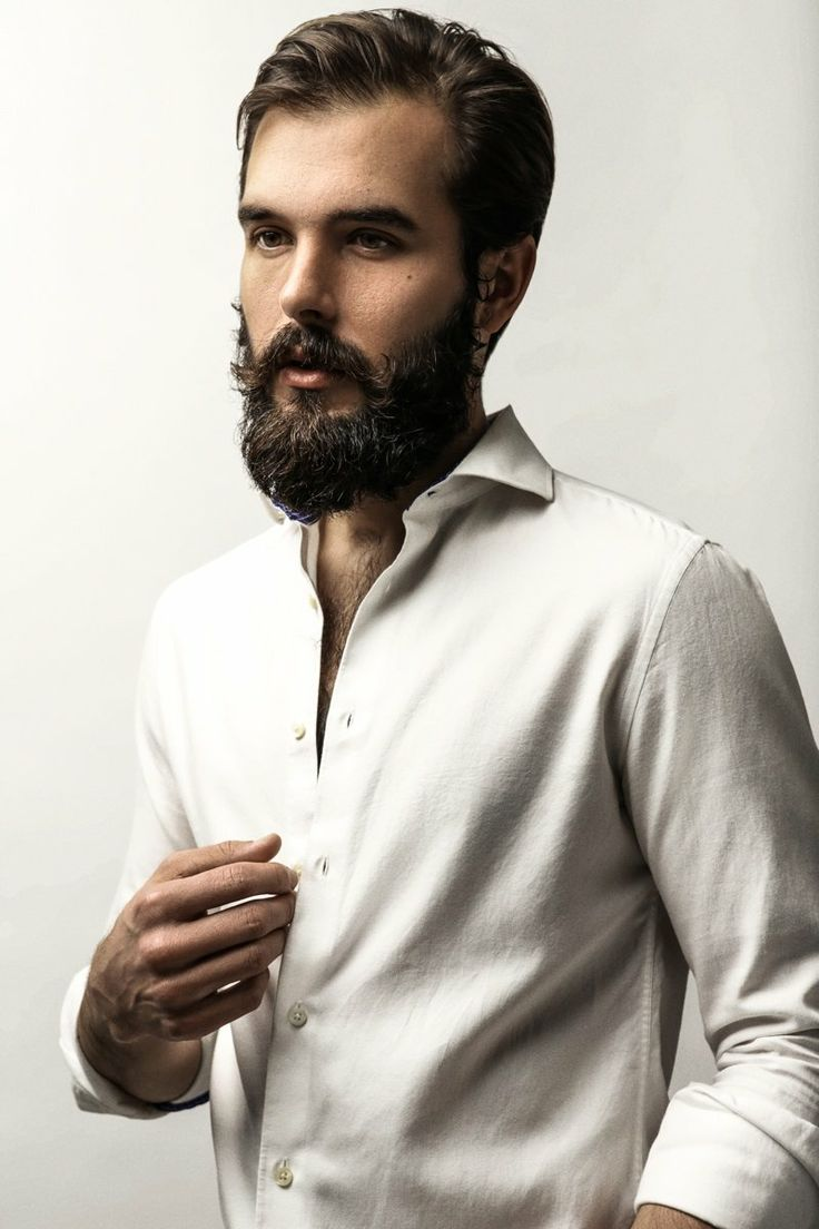how to get curls out of beard