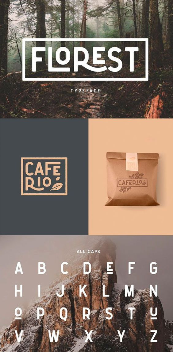 Caferio - The Florest Typeface vintage fonts free vintage font