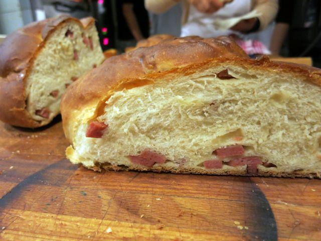 As I mentioned the other day, my recent Easter bread extravaganza with Gabriele Bonci included not one, not two but four types of savory breads. While the