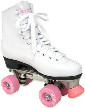 Roller Skating on Friday nights at the skate rink.