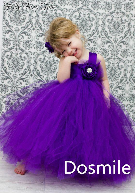 От кутюр паффи фиолетовый атлас органза цветок девочка платье ремень бальное платье для торжества день рождения платье для свадьба