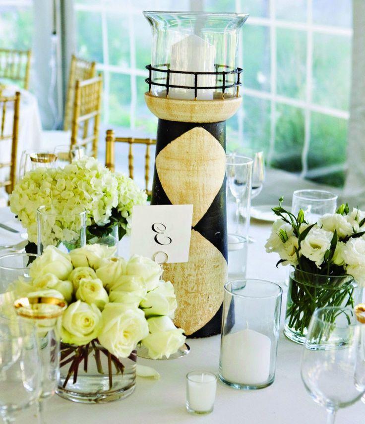 Top 7 Beach Wedding Centerpiece Ideas   Lighthouse.  Http://simpleweddingstuff.blogspot