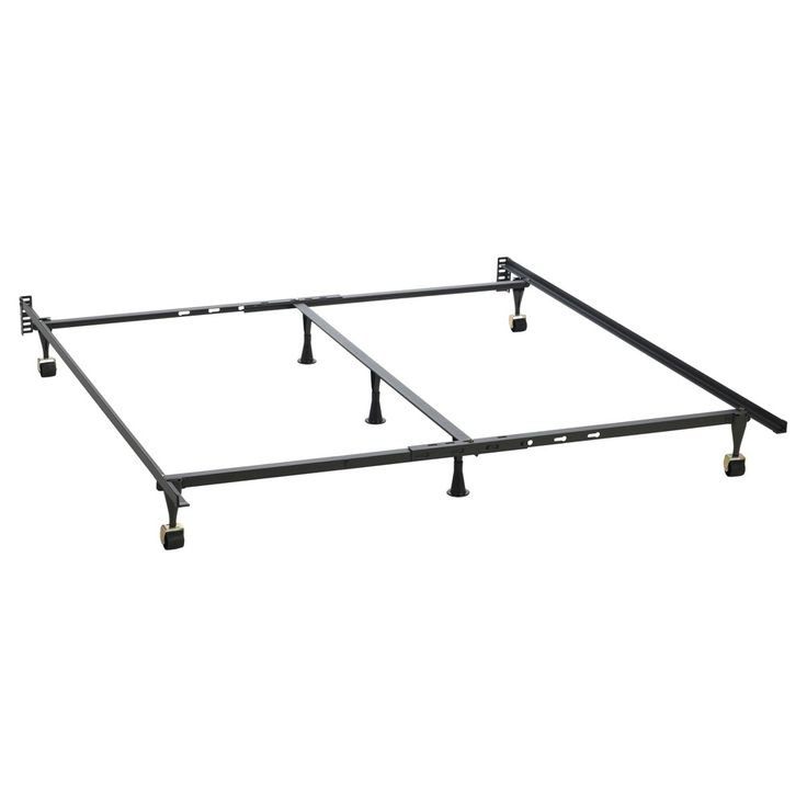 Bed Frame - One Size - Brown - Hollywood Bed Frame