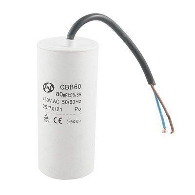 $21.84 (Buy here: https://alitems.com/g/1e8d114494ebda23ff8b16525dc3e8/?i=5&ulp=https%3A%2F%2Fwww.aliexpress.com%2Fitem%2FCBB60-Polypropylene-Film-80uF-450V-AC-SH-Motor-Run-Capacitor-White%2F32719322164.html ) CBB60 Polypropylene Film 80uF 450V AC SH Motor Run Capacitor White for just $21.84