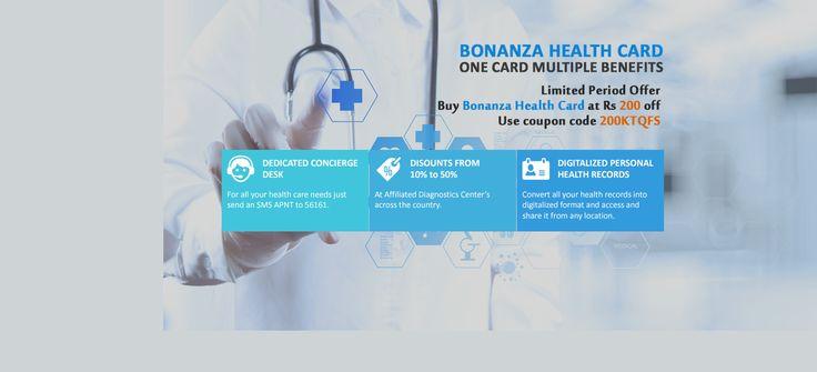 Buy #BonanzaHealthCard at discounted Rates.
