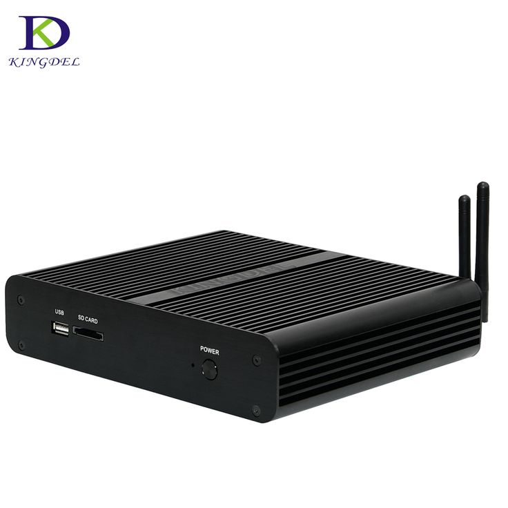 2017 Fanless 6Gen Skylake Mini PC Core i7 6600U 6500U Intel HD Graphics 520 Micro Computer HTPC Windows 10, 16G RAM 512G 500G