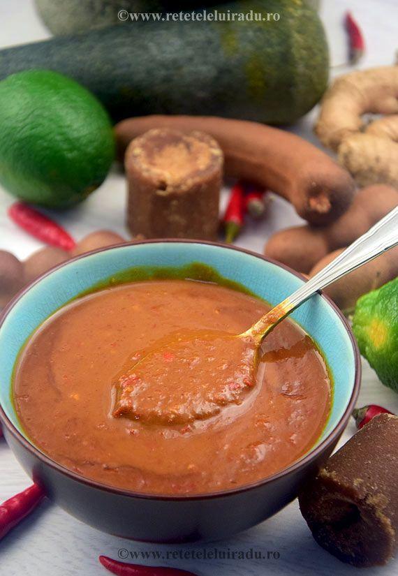 Bumbu kacang - spicy peanut satay sauce